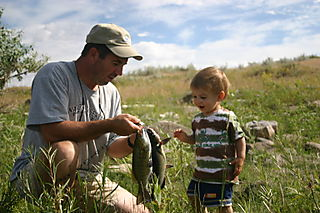 Fishing at Widow Coulee 006